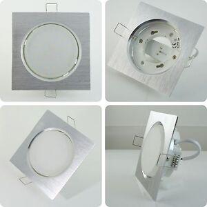 super flach 5w 6w led decken einbaustrahler einbauleuchten set gx53 230v ebay. Black Bedroom Furniture Sets. Home Design Ideas
