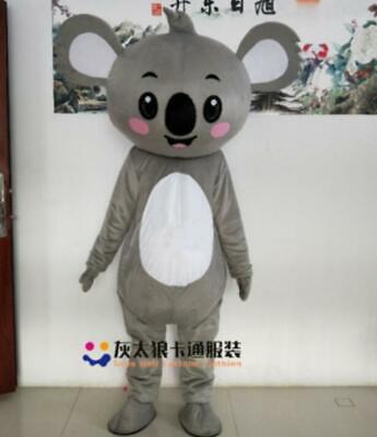 Details about  /Cute Koala Mascot Costume Adult Koala Costume Animal Cute Animal Costume