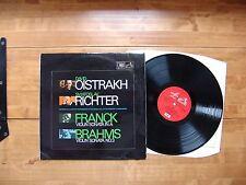 """LP EMI HMV MELODIYA ASD 2618 Franck; Brahms """"Violin Sonata"""" D. Oistrakh, Richter"""