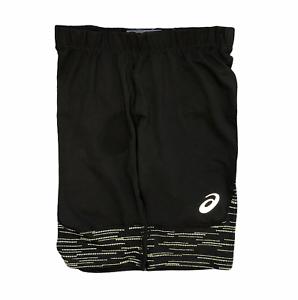 Asics Men's Reflective Sprinter Shorts Lite-Show Shorts - Black - New