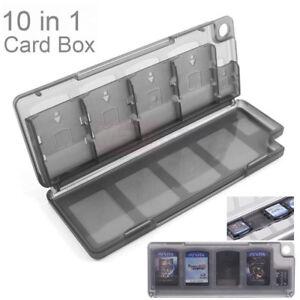 BLACK-10-in-1-PS-Vita-PSV-Game-Memory-Card-Storage-Box-Case