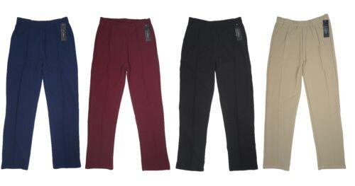 Women/'s Missy Pants 2 Pockets Elastic Waistband Casual Soft /& Comfy New