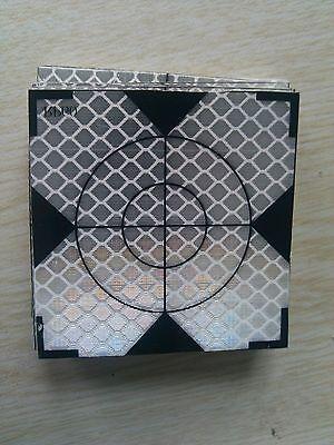 100pcs High Precision Reflector Sheet 30 x 30 mm Reflective Tape Target New
