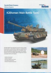 HYUNDAI-ROTEM-K2-2018-KOREAN-MAIN-BATTLE-TANK-MBT-MILITARY-BROCHURE-PROSPEKT