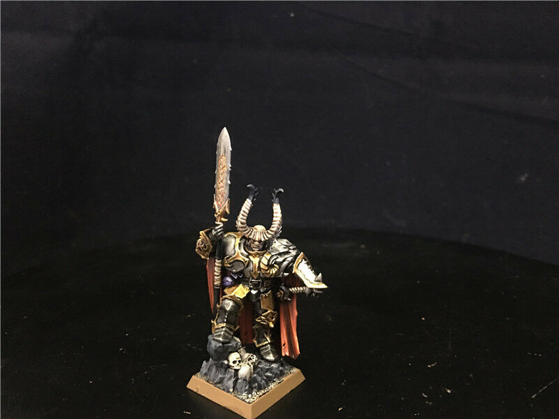25mm Warhammer Age of Sigmar DPS painted Khorne Bloodbound Chaos Lord AP6123