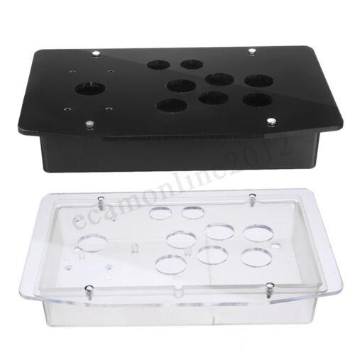DIY Replacement Acrylic Panel Case Set Handle Arcade Joystick Game  #*1 ##Q