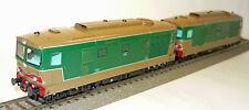 Oskar 1102 Doppelset Diesellokomotiven D.443 der FS H0  NEU & in OVP