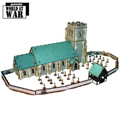 4Ground 28S-WAW-S10 28mm Parish Church Collection (1) Miniature Terrain Terrain Terrain Scenery 4d4777