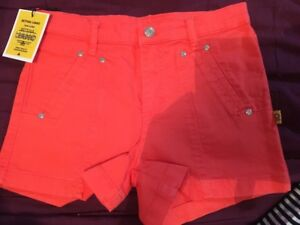 Bettina-Liano-Polly-Pocket-Shorts-Texta-Red-Sz-29-034-Bnwt-Free-Post-e70