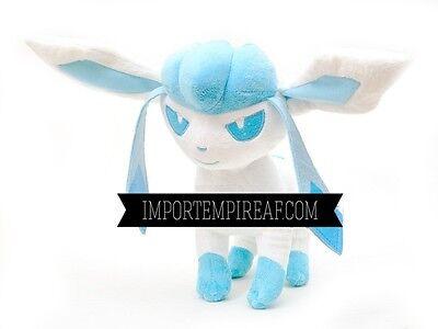 Streng Pokemon Glaceon PlÜsch 25 Cm Tomy Schneemann 471 Givrali Glaziola Plush Roger X Spielzeug