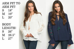 NEW-FASHION-WOMENS-BELL-SLEEVE-FLORAL-BOHO-TUNIC-TOP-SHIRT-BLOUSE