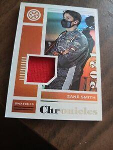 2021 Panini Chronicles Swatches NASCAR Zane Smith Auto Racing PATCH