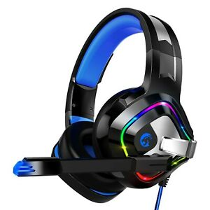 Gaming Headset Auriculares Ps4, Xbox One Headset Con Microfono Con...