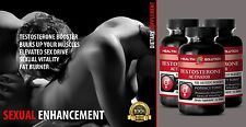 TESTOSTERONE ACTIVATOR 3 Bottles Made in USA Lose Weight Gain Muscle