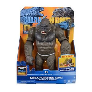 "Godzilla vs Kong 13"" Mega Kong figure with lights & sounds"