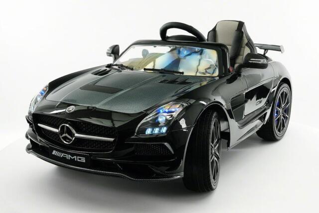 Mercedes Power Wheels >> 2018 12v Mercedes Sls Amg Battery Power Led Wheels Ride On Car W Remote