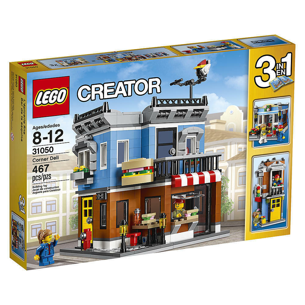 LEGO 31050  - CREATOR CORNER DELI  NEW  IN SEALED BOX LEGO CITY CREATOR