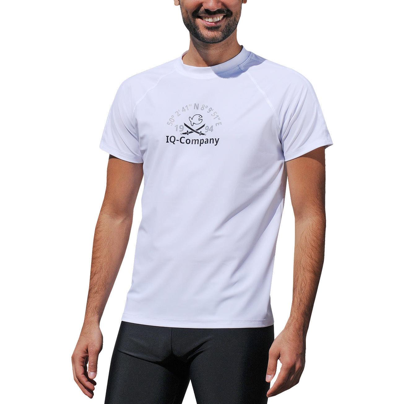 IQ UV 300 Shirt Loose Loose Loose Fit Men Herren S - 3XL Weiß weiss Schutz Bekleidung 1994 09cd63