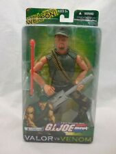 G I JOE Accessory 2005 Gung-Ho  V16            Black Paintball Gun