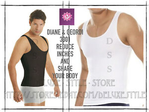 MEN SHAPEWEAR ABDOMINAL COMPRESSION POWERNET D&G 3301 FREE SHIPPING LOSE WEIGHT
