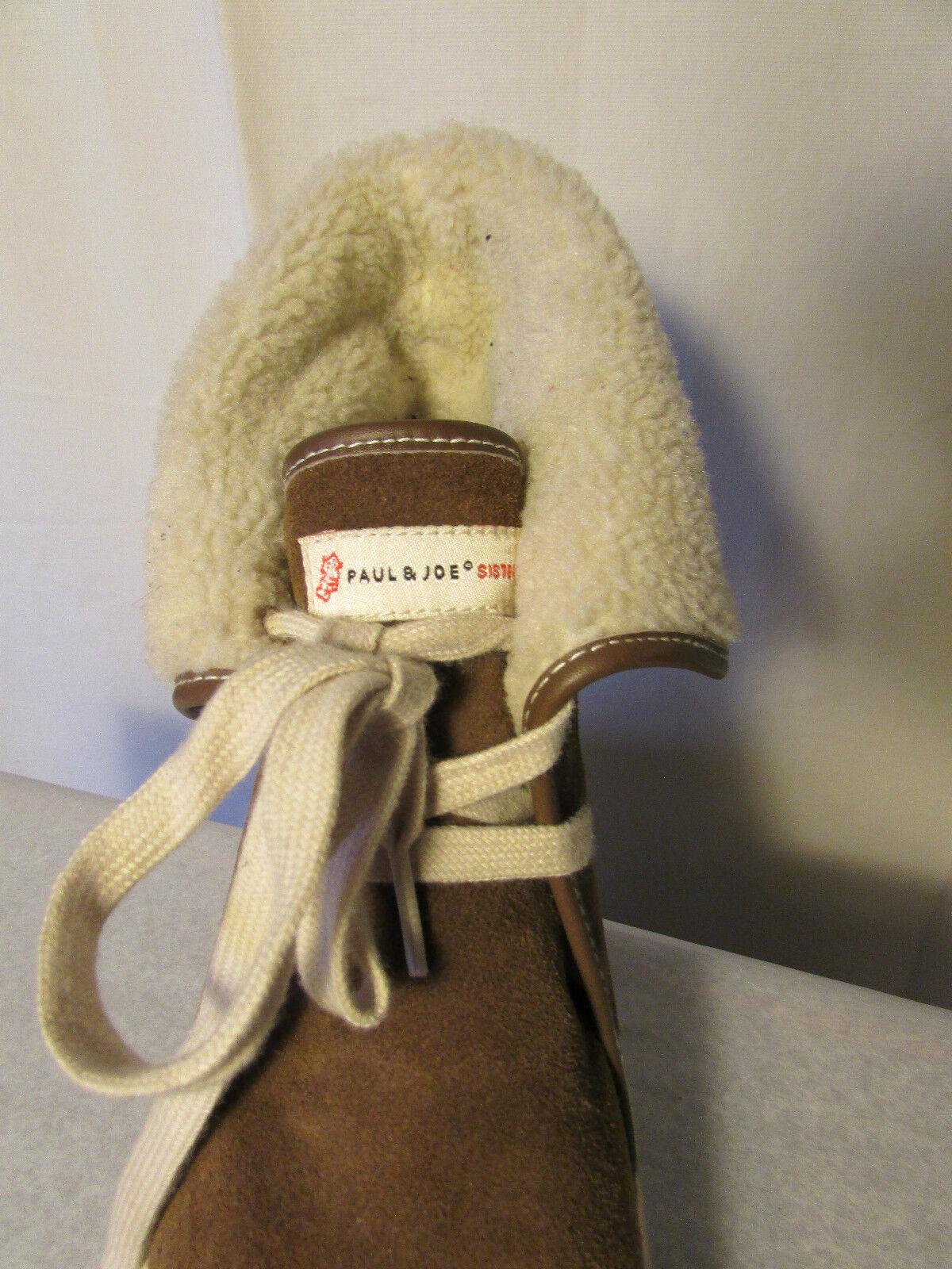 Stiefel/Keilstiefel Wildleder Paul und joe sister Wildleder Stiefel/Keilstiefel Maulwurf und Schaffelljacke 40 a1f5a2