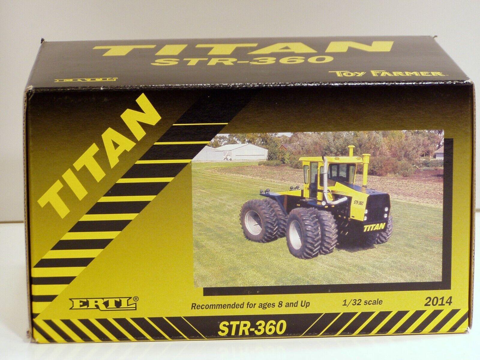 Steiger Titan STR360 tracteur - 1 32 - ERTL  2014 - Neuf
