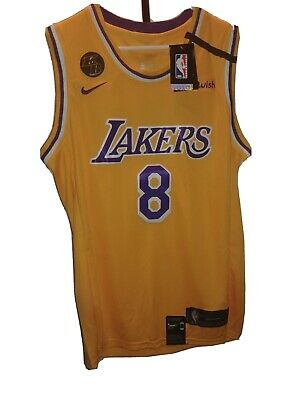 ????Kobe Bryant Jersey w/KB PATCH & TRIBUTE BAND Size 48 New STITCHED Nike   eBay