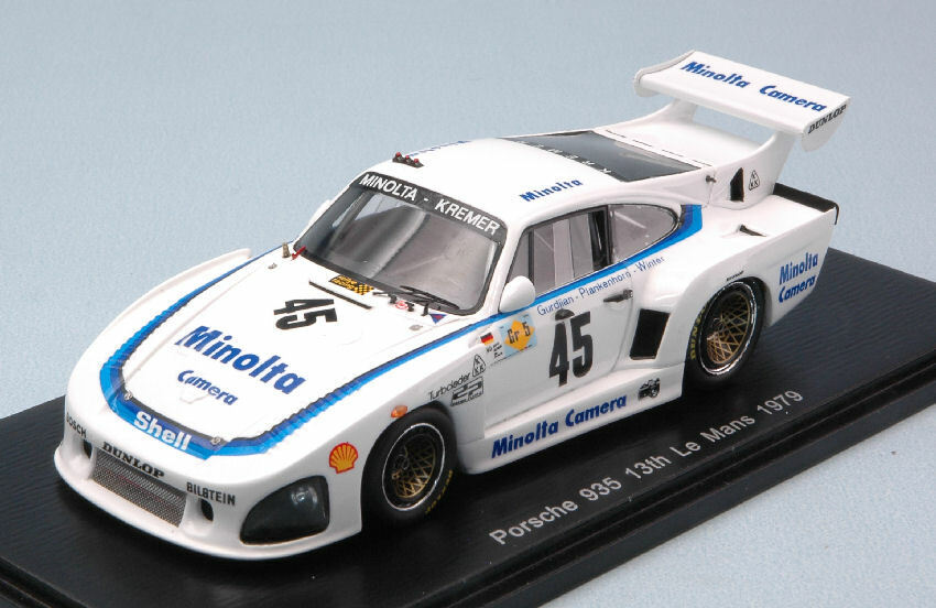 Porsche 935  45 13th Lm 1979 A. Plankenhorn    P. Gurdjian   J. Winter 1 43 Model  remise élevée