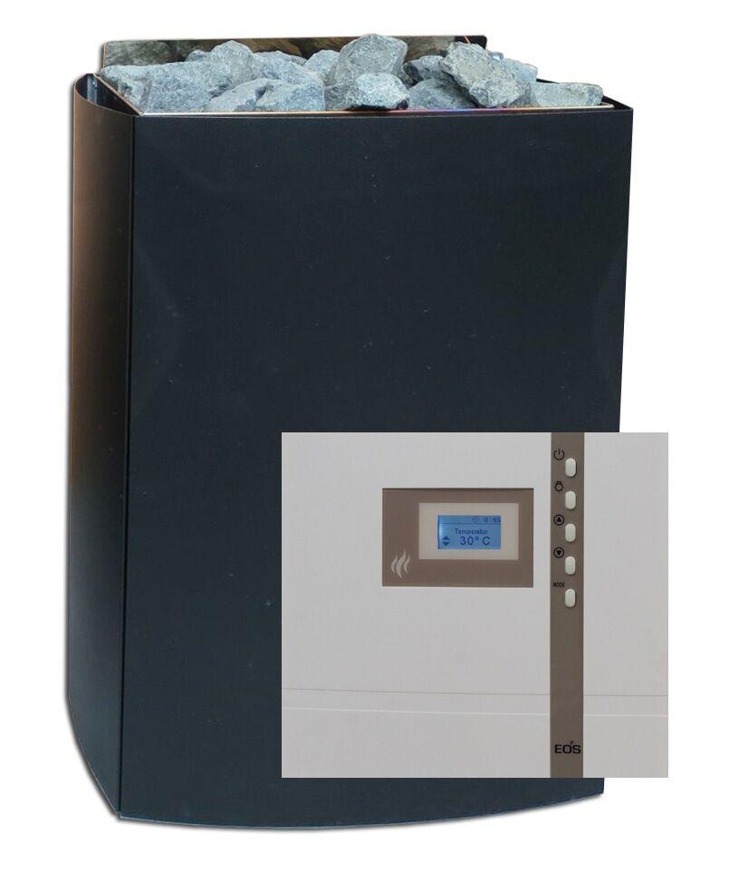 solo per te Forno Sauna Set IRON II 7,5 KW KW KW sauna controllo econ EOS d1 con pietre sauna  edizione limitata a caldo