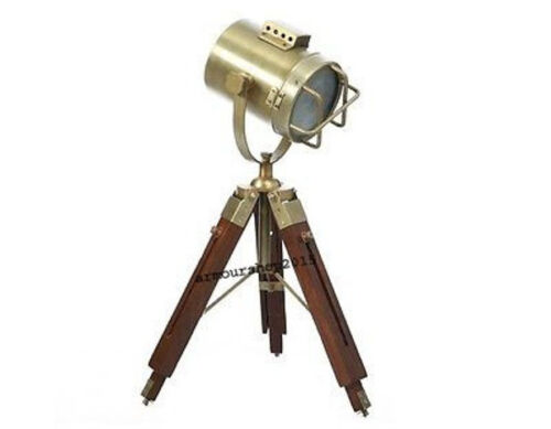 Vintage Studio Designer's Spotlight With ANTIQUE TABLE Tripod Christmas GIFT