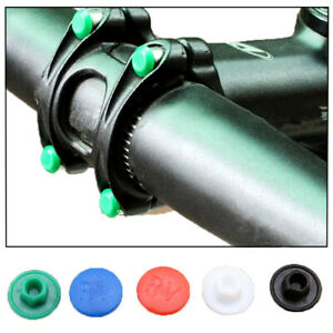 Bike-Accessories-Dustproof-Bicycle-Stem-Hexagon-Screw-Cap-Bolt-Cover-M5-M6
