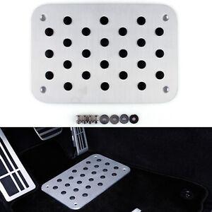 Auto-Aluminum-Floor-Carpet-Mat-Pad-Plate-Pedal-Foot-Rest-For-Universal-Car-T3