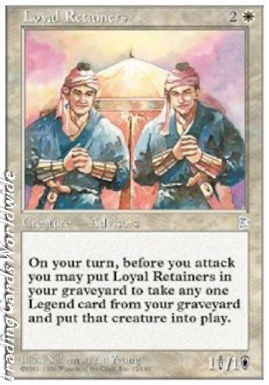 Loyal Retainers    NM    Portal Three Kingdoms    engl.    Magic the Gathering