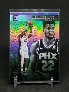 2018-19-Chronicles-Deandre-Ayton-RC-Rookie-Essentials-Refractor-Suns