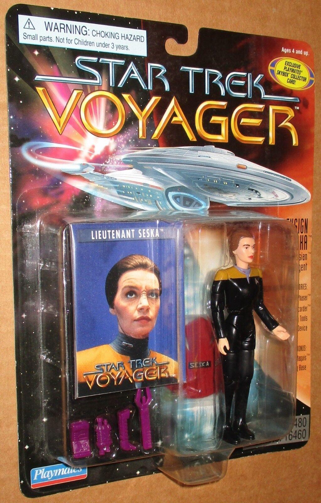 Star Trek Voyager Low Number Ensign Seska Figure MOC 2018 Playmates