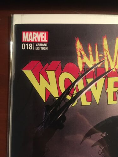 All New Wolverine issue #18 Francesco Mattina Venomized Variant NM Marvel Taylor