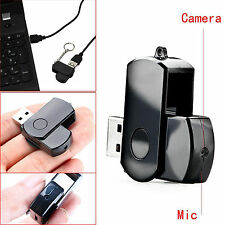 HD 1280P USB Flash Pen Camera U Disk Hidden Spy Video Recorder Camcorder DVR USA