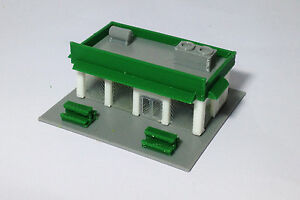 6ee9783095eb Details about Outland Models Train Railway Layout City Convenience /  Grocery Store N Scale