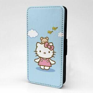 Fuer-Handy-Flip-Case-Huelle-Hello-Kitty-T1464