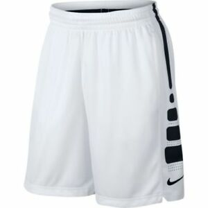 Authentique Noirblanc Elite Basketball Nike 718378 100 Drifit Short Détails Sur LcAq45Rj3