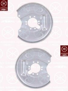 Ankerblech-Spritzblech-Hitzeschutzblech-Satz-hinten-Mitsubishi-Space-Star-98-04