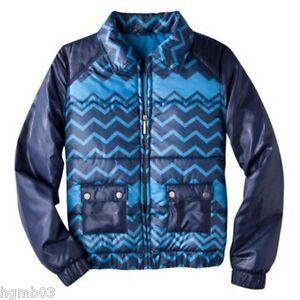 Small Puffer Target Extra Blue Medium Jacket Missoni M Xs Størrelse For qtwBn58