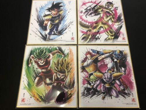 BANDAI Dragon Ball Shikishi ART 7 Set 16 Sets ART7 Dragonball JAPAN