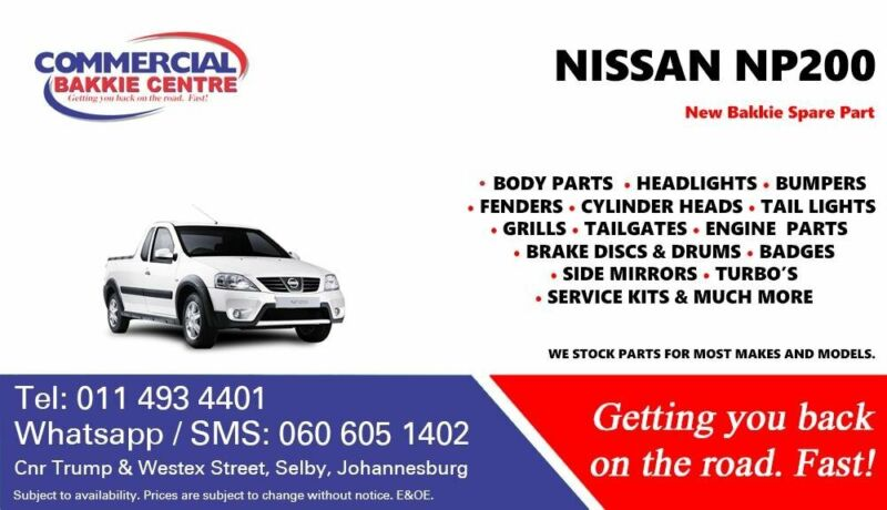 Nissan Np200 Parts and Spares For Sale
