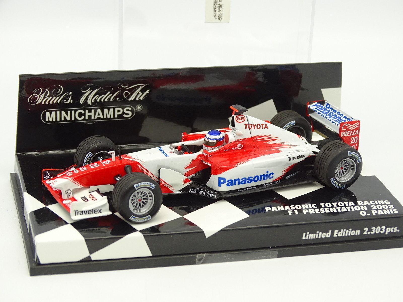 Minichamps 1 43 - F1 Panasonic Toyota Racing Presentation 2003 Panis