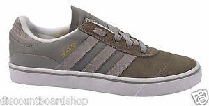 Image is loading Adidas-BUSENITZ-VULC-Mid-Cinder-Gray-White-Discounted- 0db08daab55a