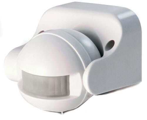 Detecteur de mouvement exterieur blanc SCS ST 09 W