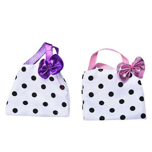 Polka-Dot-Hangbag-for-Barbie-Doll-Fashion-Bag-Kids-Toy-Barbie-Doll-AccessorieEB