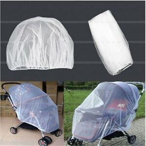 Universal-Baby-Stroller-Mosquito-Insect-Net-Cover-Fit-Pram-Bassinet-Car-Seat