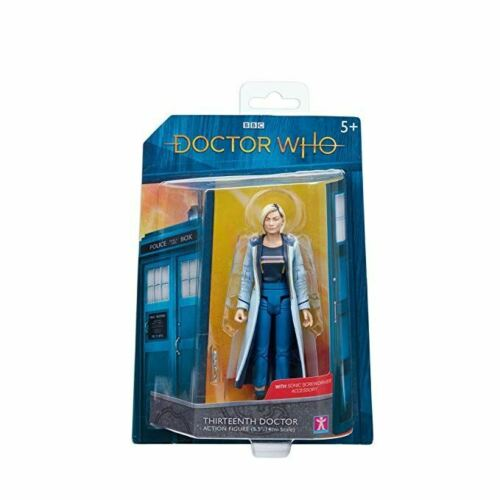 NEW Jodie Whittaker 13th 5 .5 Inches Tall Doctor Who THIRTEENTH DR Figure